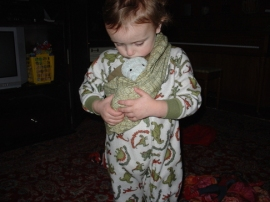 henry and baby sling